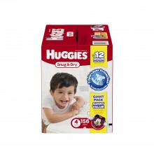 Amazon: Huggies Snug and Dry Diapers on sale