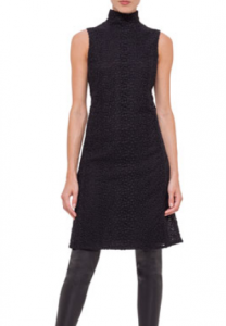 Bergdorf Goodman: Akris Sleeveless Black Dress $1989