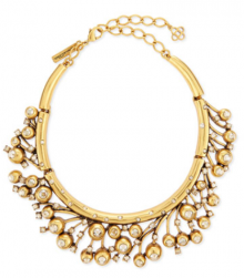 Bergdorf Goodman: Oscar de la Renta Ball & Crystal Necklace $716
