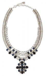 Bergdorf Goodman: Dannijo Mikhail Jet Crystal Necklace $537