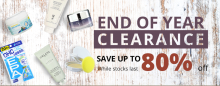 COSME-DE.COM: End Of Year Clearance! Save Up To 80%