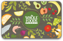 Gyft: Whole Foods Market Special: Buy $100, Get $20 Free