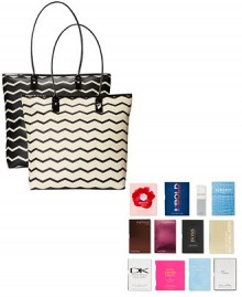 Macy's: FREE 12 Fragrance Samples + Tote Bag with $85 Fragrance Purchase