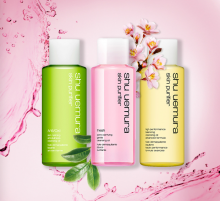 Shu Uemura: 3 Cleansing Oils with $50+ Orders & Other GWP