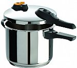 Amazon: T-fal Stainless Steel 6.3-Quart Pressure Cooker $45.50