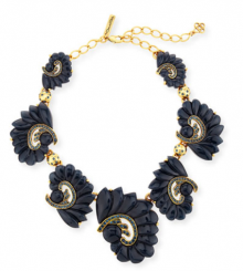 Bergdorf Goodman: Oscar de la Renta Resin Swirl & Crystal Necklace $556