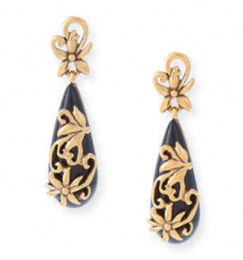 Bergdorf Goodman: Oscar de la Renta  Filigree Drop Earrings $196
