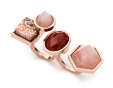 Bergdorf Goodman: Eddie Borgo Rose Golden-Plated Two-Finger Composition Ring $320