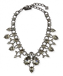 Bergdorf Goodman: Oscar de la Renta Pear Crystal Statement Necklace $833
