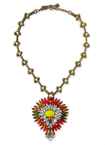 Bergdorf Goodman: Dannijo Khaleesi Crystal Necklace $486