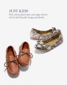 Cole Haan: Kids Full Price Shoes 30% OFF