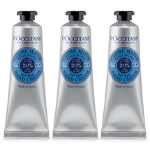 L'Occitane: 4 Free SHEA Hand Creams With $50 Purchase