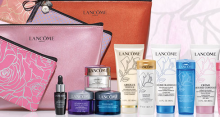 Lancome: Gift with Purchase $60+ with Value Up To $147
