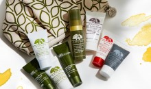 Origins: 5 Minis & Cosmetics Bag with $30+