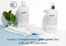 Philosophy: 'Pure Grace' Duo with $65+