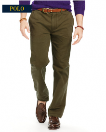 Ralph Lauren: Classic Fit Essential Chino Pant in $29.99