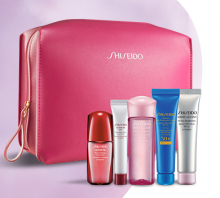 Shiseido: 6 Piece Gift with Purchase of 2 Skincare Products