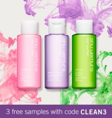 Shu Uemura: 3 Cleansing Oils as GWP & Other Deals