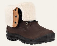 Timberland: Women's Woodhaven Fleece-Lined Waterproof Boots $149.99