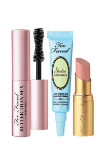Too Faced: 2 Deluxe Samples & Free Mascara As GWP
