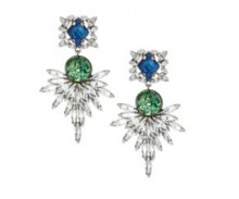 Bergdorf Goodman: Dannijo Brianna Crystal Statement Earrings $293
