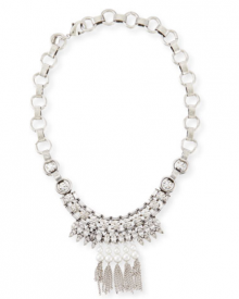 Bergdorf Goodman: Dannijo  Zoya Crystal & Pearly Necklace $295