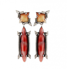 Bergdorf Goodman: Dannijo Marla Crystal Drop Earrings $396