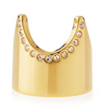Bergdorf Goodman: Vita Fede Gold-Plated Nail Ring $175