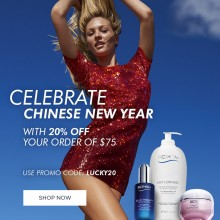 Biotherm: 20% Off Orders for Chinese New Year