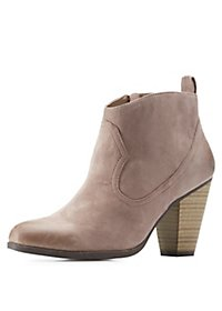 Charlotte Russe: All Booties Starting At $20