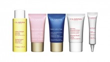 Clarins: 5 Piece Gift with $60+ and More Today