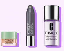 Clinique: 3 Free Eye Minis With Any $30 Purchase
