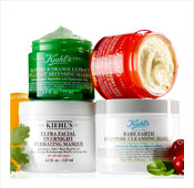 Kiehl's: Free Shipping and 2 Deluxe Samples with Mask Purchase