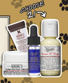 Kiehl's: 2 Deluxe Samples Of Your Choice With Any Hair, Body, Or Pet Care Purchase