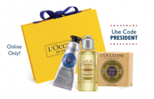 L'Occitane: Free Gift Box With $40 Purchase