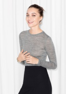 & Other Stories: 50% Off Top Long-Sleeved Wool Today