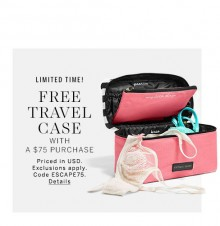Victoria's Secret: Free Travel Case With Orders Over $75