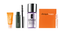 Clinique: 4 Minis with $40+ Purchase Today