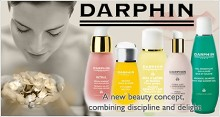 Darphin: 5 Complimentary Samples of Choice as Gift