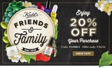 Kiehl's: Friends and Family Sale 20% Off Entire Purchase
