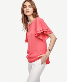 Ann Taylor: All Tops Under $40 This Weekend
