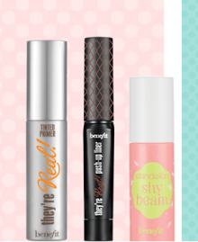 Benefit Cosmetics: 3 Mini Products as GWP