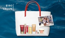 Clarins: 7 Piece Gift Bag Free with $75+ Orders