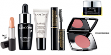 Lancome: Up to 5 Samples as Gift & 15% Off Purchase
