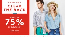 Nordstrom Rack: up to 70% Off + Extra 25% Off Clearance Styles
