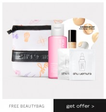 Shu Uemura: Makeup Kit as Gift with $40+