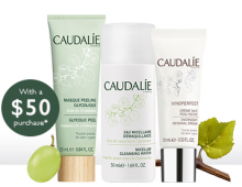 Caudalie: 3 Piece Gift with Purchase