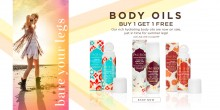 Pacifica: BOGO Free on Body Oils