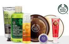 The Body Shop: Buy 3 Get 3 Free + GWP