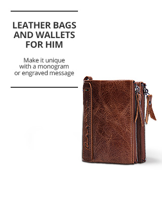 Aliexpress: Leather Bags and Wallets Sale